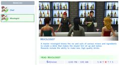 The Sims 4 Culinary Career - Job Rewards and Bonuses http://www.carls-sims-4-guide.com/careers/culinary/  The next test area.