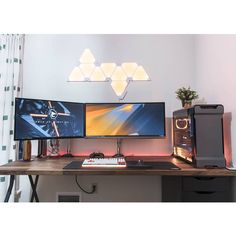 "57 Likes, 1 Comments - Mal - PC Builds and Setups (@pcgaminghub) on Instagram: ""Here is one of the glorious setups that won the @aorus_official r/battlestations giveaway. It looks…"""