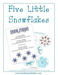 winter preschool activities | Winter Preschool Activities: Snowflake Fun (and Free ... | classroom