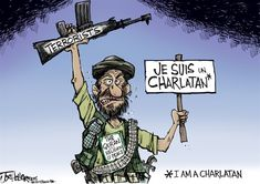 FROM BOTH SIDES OF MOUTH | Jan/13/15 Joe Heller - Green Bay Press-Gazette - Charlatan -