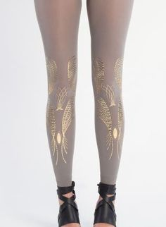 Galaxy,  Bottoms, leggings tights accessories gift gold, Chic