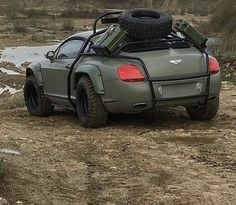 Bentley Continental gt offroad  What do u think?