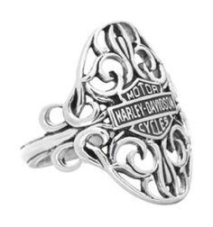 Mens and Womens Harley Davidson Rings -
