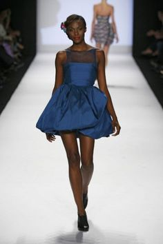 Alice by Kenley Collins. Spring 2009 Collection shown in Bryant Park, September 12, 2008.