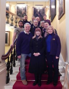 Yvette Fielding and the Most Haunted team filming in Spring 2015