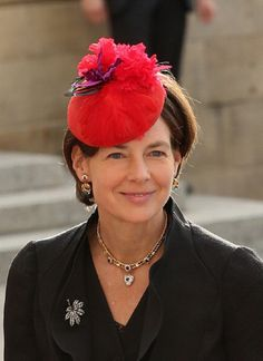 Oct 20 - Countess Diane of Nassau emerge from the Cathedral following the wedding ceremony