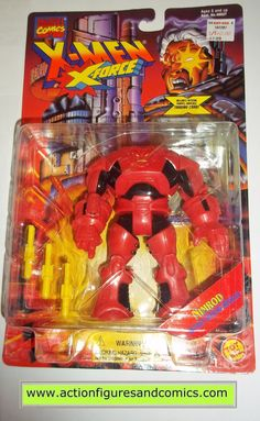 X-MEN X-Force toy biz NIMROD 1995 marvel universe moc mip mib action figures