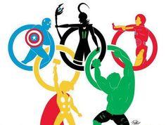 Olympic Avengers.  Sweet!