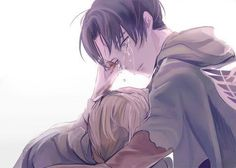 Levi and Petra. She wanted was to devote herself to him. All she wanted was his love. . . . I'm done. Where's ymir?