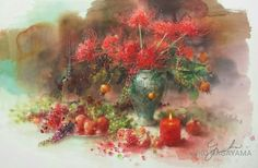 Yuko Nagayama 永山裕子, 1963 ~ Symbolic Watercolor painter | Tutt'Art@ | Pittura * Scultura * Poesia * Musica |