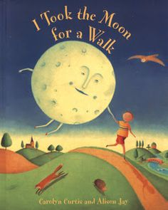 Chalk Talk: A Kindergarten Blog: I Took the Moon for a Walk