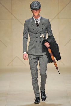 Burberry Prorsum Menswear: Fall 2012