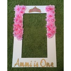 What a great way to have fun and create awesome pictures at a party. This Polaroid inspired frame is personalized with all of your details to