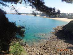 Vue depuis sur la plage de la fourberie à St Lunaire Station Balnéaire, France, River, Outdoor, Brittany, The Beach, Outdoors, Outdoor Games, The Great Outdoors