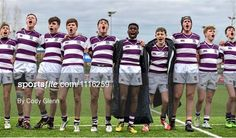 CBC Monkstown v Clongowes Wood College - Bank of Ireland Leinster Schools Junior Cup Round 2