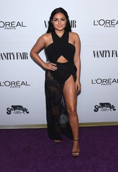 Actor Ariel Winter attends Vanity Fair and L'Oreal Paris Toast to Young Hollywood hosted by Dakota Johnson and Krista Smith at Delilah on February 21, 2017 in West Hollywood, California.