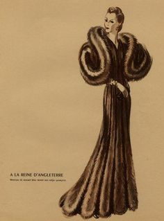 Image result for 1930's evening coat