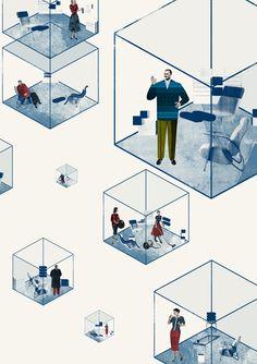 Eda Akaltun's Collaged Respectables