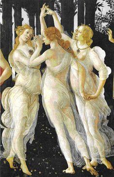 la primavera botticelli   ... partir de La Primavera de Botticelli): DAR, RECIBIR Y DEVOLVER