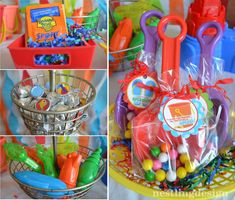 I know I have been a little MIA lately, but I am thrilled to show you this cute party I styled for a client who requested a beach/pool part...