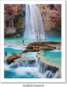 Art Honest Art Print Poster Havasu Falls