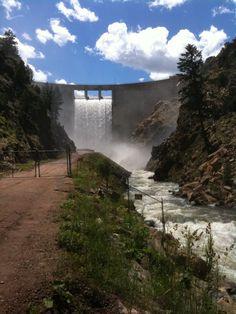 Waterton Canyon Reservoir, Colorado