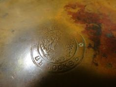 Antique Imperial Russian Hammered Dovetail Copper Footed Claw Foot Bowl Signed   eBay