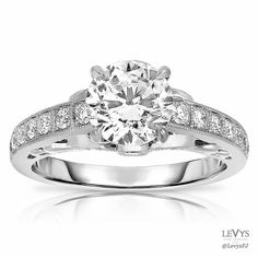 FI3381 #FischerJewelryDesign #engagement