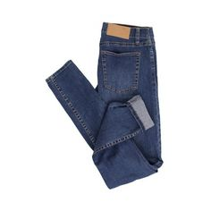 Cheap Monday Slim Credit Mid Blue Jeans (€43) ❤ liked on Polyvore featuring jeans, pants, bottoms, trousers, slim fit jeans, blue jeans, slim blue jeans, cheap monday jeans and slim fit blue jeans