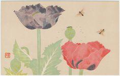 'Poppies' (Taishô–early Shôwa era). After Yamaguchi Hôshun...
