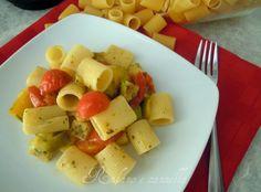 Pasta con patate e peperoni  http://blog.giallozafferano.it/rafanoecannella/pasta-patate-peperoni/