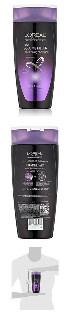 L'Oreal Paris Advanced Haircare Volume Thickening Shampoo #pantry #health_personal_care #lorealparis