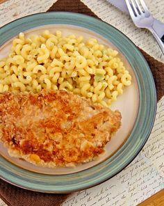 Saltine Cracker Pork Chops