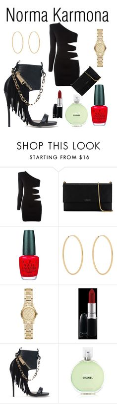 """""""Norma Karmona"""" by normacarmona on Polyvore featuring moda, Balmain, Lanvin, OPI, Loren Stewart, Burberry, MAC Cosmetics, Dsquared2 y Chanel"""