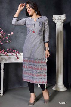 Pack Of Indian Wear Hand Work Long Rayon Kurti. Silk Kurti Designs, Dress Designs, Festival Wear, Green Tops, Indian Wear, Designer Dresses, Tunic Tops, Shirt Dress, How To Wear