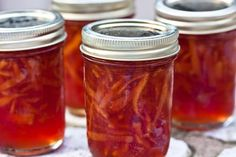 Capture the flavor and aroma with this Blood Orange Marmalade and enjoy it year-round. Jalapeno Jam, Jelly Cupboard, Water Bath Canning, Citrus Fruits, Bulk Food, Home Canning, Meals In A Jar, Apple Butter, Freeze Drying