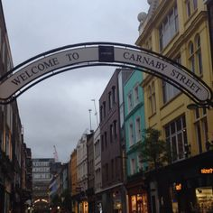 #London's famous Carnaby Street