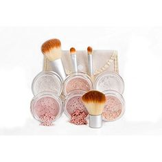 EVERYDAY KIT Full Size Mineral Makeup Set Matte Foundation Bare Face Sheer Powder Cover (LIGHT) -- Check out the image by visiting the link. (This is an affiliate link) #Makeup