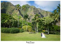 www.RightFrame.net - Kualoa Ranch Wedding, Paliku Gardens, Hawaii Destination Wedding. Oahu Weddings Photography Ideas.