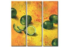 "Perfect decoration for kitchen - painting ""Limes"" #limes #kitchen #decoration #homedecor"