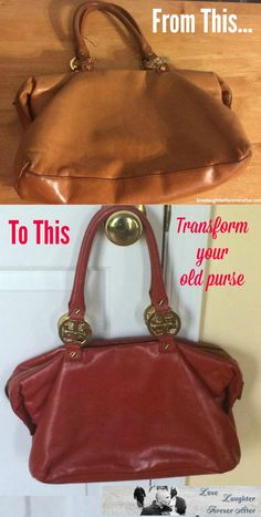 Transform your old purse by changing its color. Learn how to paint your purse