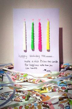 DIY birthday card