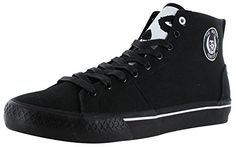 Iron Fist Misfits Hi Top Men's Skate Sneakers Shoes Black Size 10