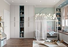 МЕТРАЖ: 94 м2  ДИЗАЙН: ГАЛИНА БЕРЕЗКИНА Closet, Home Decor, Homemade Home Decor, Closets, Cabinet, Interior Design, Home Interiors, Decoration Home, Closet Built Ins