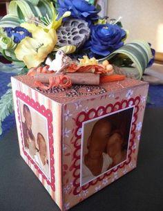 Cube scrappé, une idée de cadeau