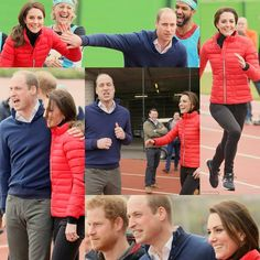 william and kate and harry at a heads together event yesterday