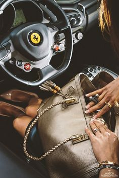 What Women  Want- Glamorous And Sexy- Accessories Included...Ferrari  ~LadyLuxury~