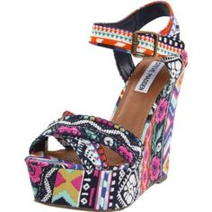 Steve Madden Women's Winonna Wedge Pump - designer shoes, handbags, jewelry, watches, and fashion accessories | endless.com