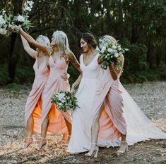 Our favourite cocktail bridesmaids dresses for this Summer!💖 View our Shona Joy bridesmaids range in Dusty Pink