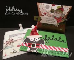 Stampin' Up! Holiday Gift Card Class Kit by Melissa Davies @rubberfunatics #rubberfunatics #stampinup